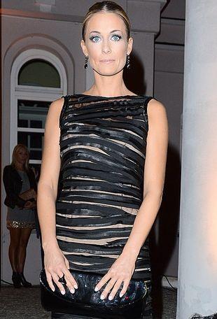 Małgorzata Rozenek w sukni w paski (FOTO)