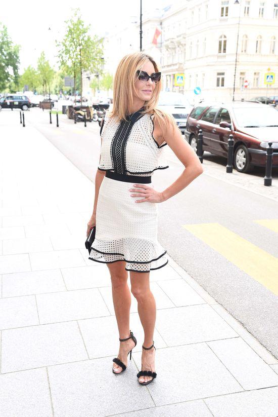 Lady Rozenek ma swoje włane pojęcie elegancji (FOTO)