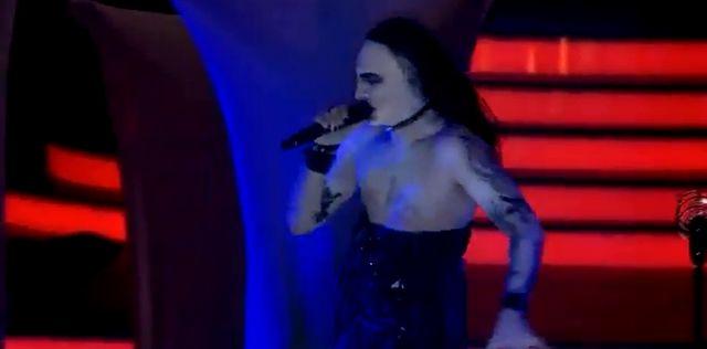 Mariusz Totoszko jak Marilyn Manson da� czadu! (VIEDO)