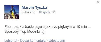 Marcin Tyszka zdradził urodowy trik Anji Rubik (FOTO)