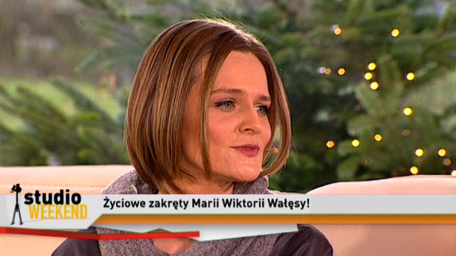 Maria Wiktoria Wałęsa: Mam szczęście w miłości