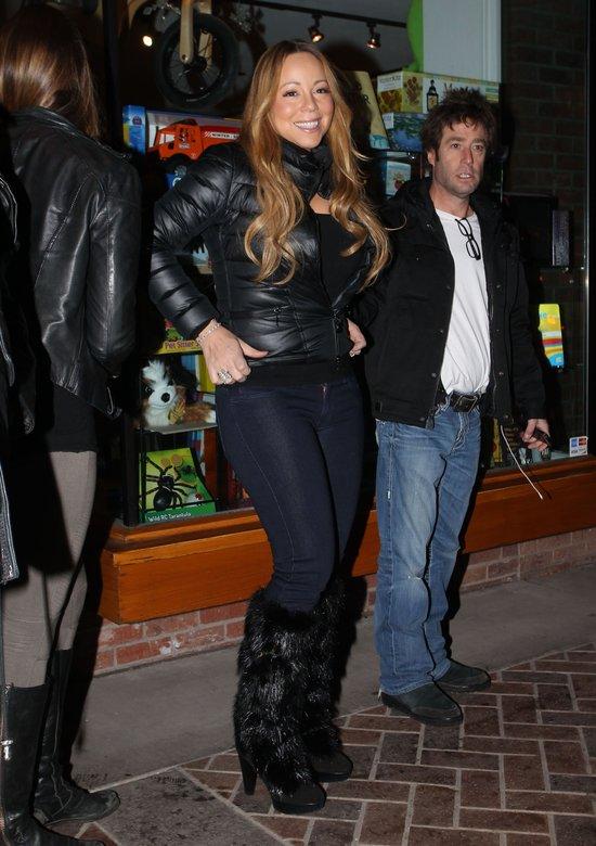 Mariah Carey nie traci okazji do zakupów (FOTO)