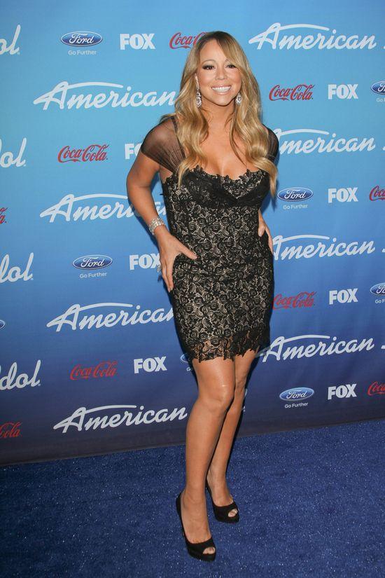 Mariah Carey znów zgubiła talię (FOTO)