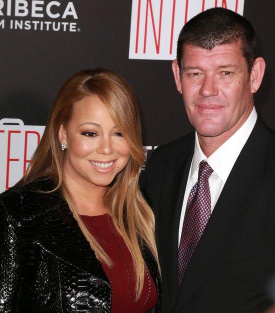 Dramat Mariah Carey. Jej pier�cionek zar�czynowy...
