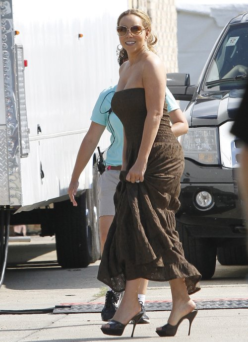 Mariah Carey - treningi się opłaciły (FOTO)