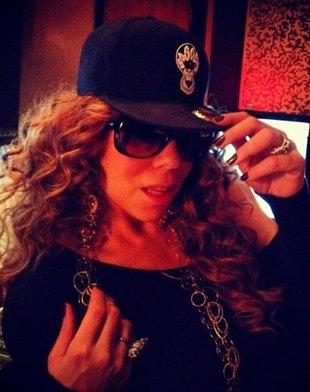 Mariah Carey wróciła do studia (FOTO)