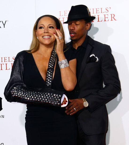 Nick Cannon i Mariah Carey walcz� w s�dzie o...