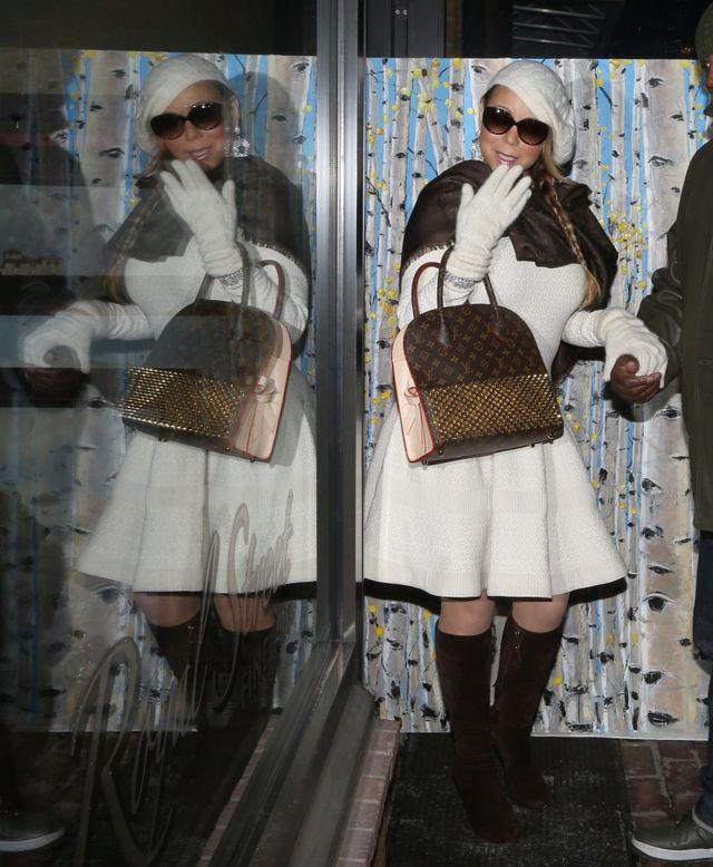 Mariah Carey - nie czas na miłość? Będą zakupy (FOTO)