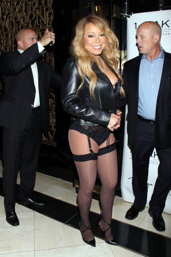 OMG! Nawet Kim Kardashian nie przychodzi tak ubrana na imprezy! (FOTO)