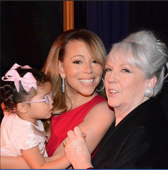 Mariah Carey z mamą i córeczką (FOTO)