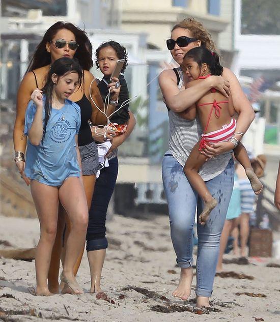 Mariah Carey przy�apana podczas urlopu (FOTO)
