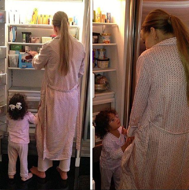 Mariah Carey w domowym zaciszu (FOTO)