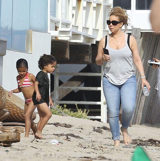 Mariah Carey przyłapana podczas urlopu (FOTO)