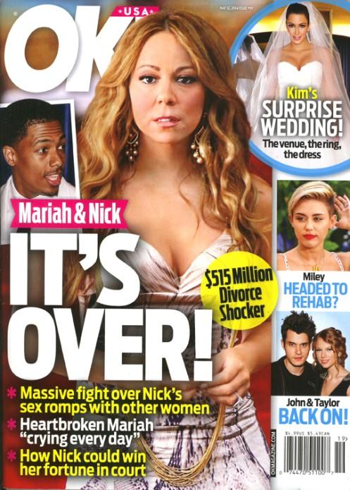 Małżeństwo Mariah Carey przeżywa kryzys!