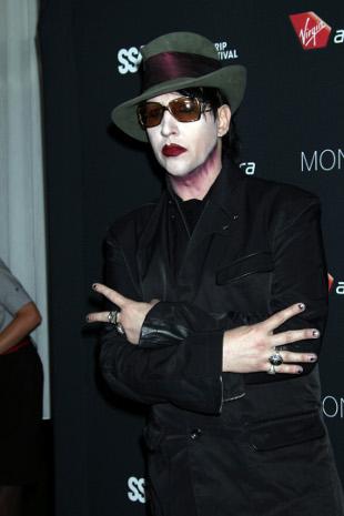 Marilyn Manson wymiotował na scenie