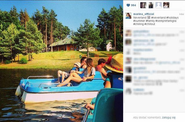 Marina Łuczenko już nie wspomina o Szczęsnym (FOTO)