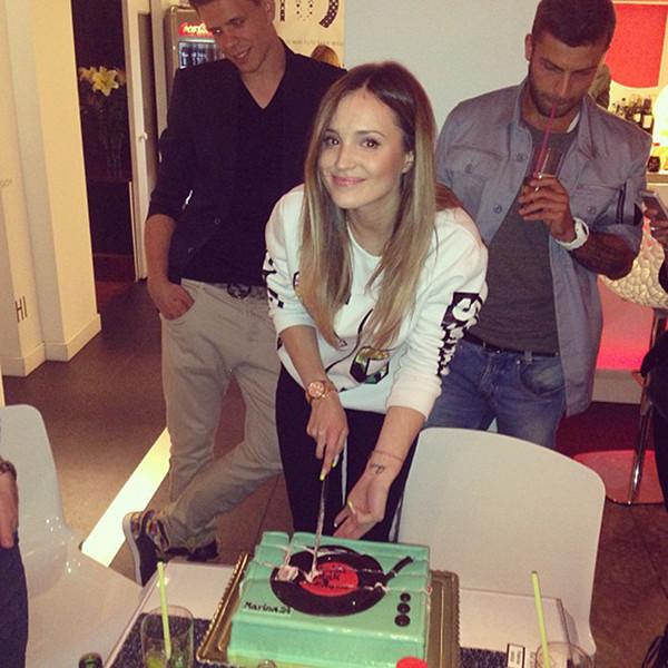 Na urodzinach u Mariny Łuczenko (FOTO)