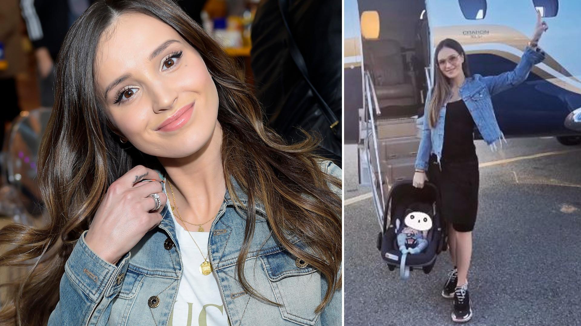 """Marina wrzuciła zdjęcie z synem Liamem: """"Piękny synek podobny do taty."""""""