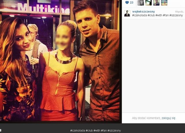 Wojtek Szczęsny o fałszywym Instagramie