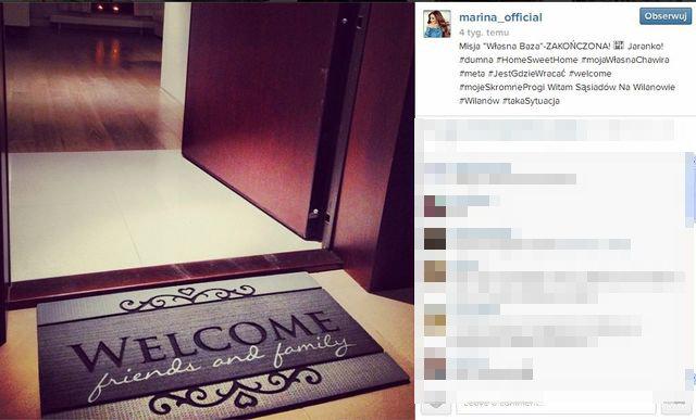 Marina �uczenko kupi�a mieszkanie na Wilanowie (FOTO)