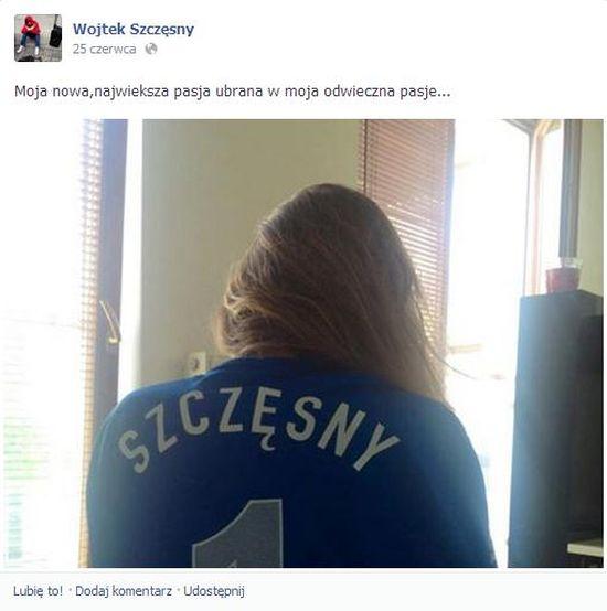 Marina i Wojciech Szczęsny są razem?