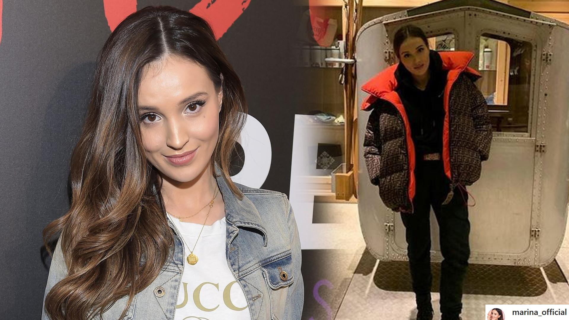 Marina pokazała zdjęcie z Wojtkiem i Liamem z Zakopanego – co za stylizacja!