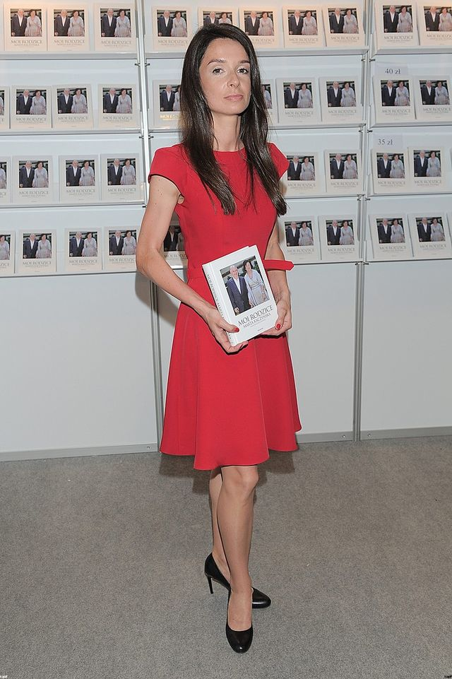 Marta Kaczyńska promuje książkę (FOTO)