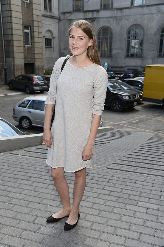Marta Wierzbicka w koszuli nocnej na salonach (FOTO)