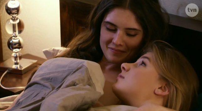 Marta Wierzbicka w łóżku z dziewczyną