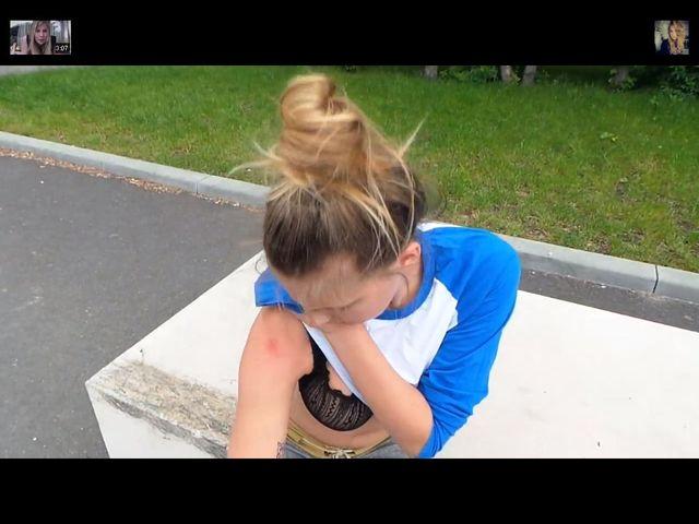 Marta Wierzbicka poobijała się jeżdżąc na desce [VIDEO]