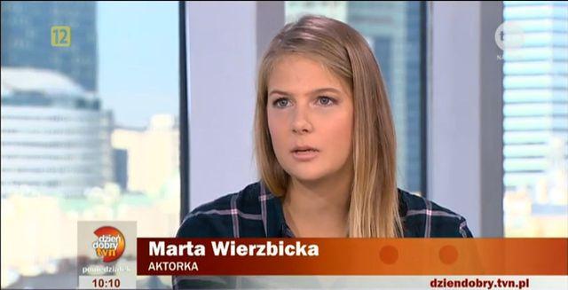 Marta wierzbicka pokaza�a siostr� (FOTO)