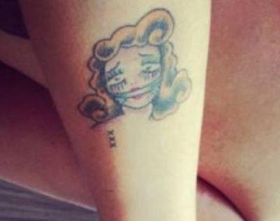 Kto zdecydował się na taki tatuaż?