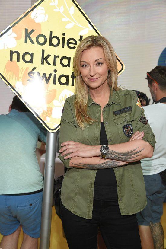 Martyna Wojciechowska pokazała szwy po wypadku - było groźnie