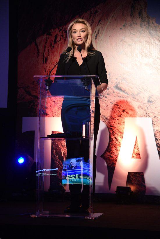 Martyna Wojciechowska na rozdaniu nagród Travelery 2016 (FOTO)