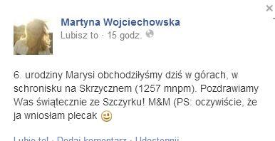 Martyna Wojciechowska wyprawiła córce nietypowe urodziny