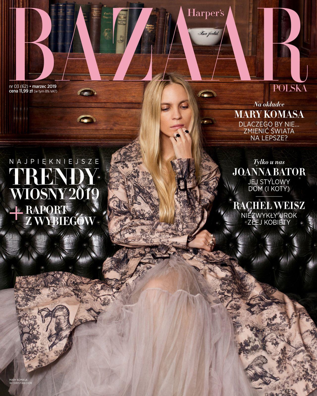 Mary Komasa w Harper's Bazaar: Dlaczego Instagram ją przeraża?
