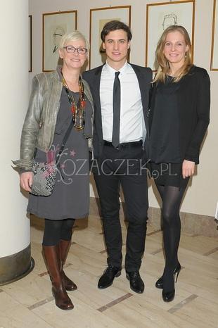 Mama Damięckiego z synem i z jego nową partnerką