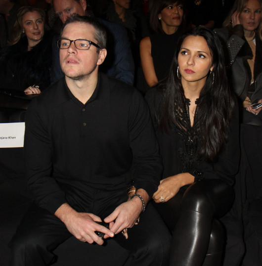Matt Damon i Luciana Barroso odnowi� �luby ma��e�skie