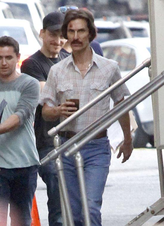 Matthew McConaughey schud� prawie 14 kilogram�w (FOTO)