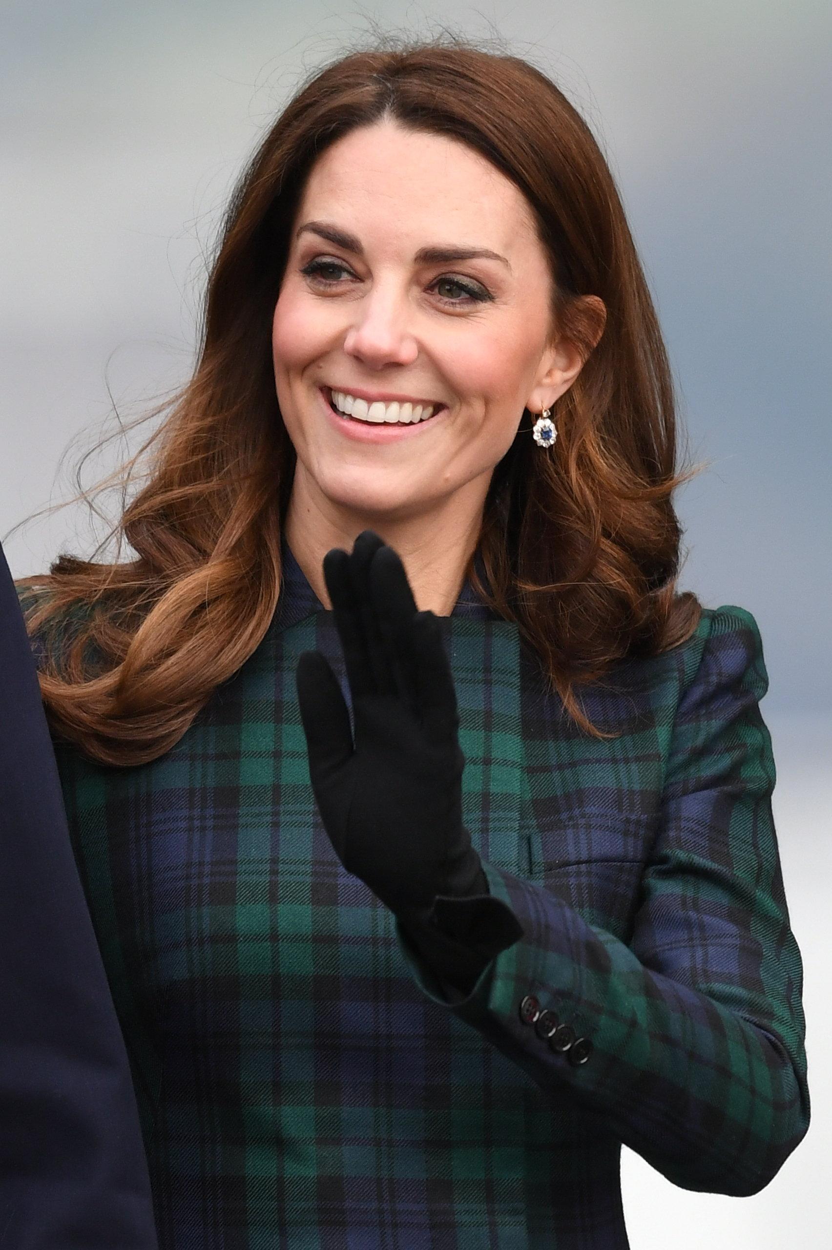 Kate odwiedziła Dundee. Ten szczegół stylizacji zdradza, komu oddała hołd