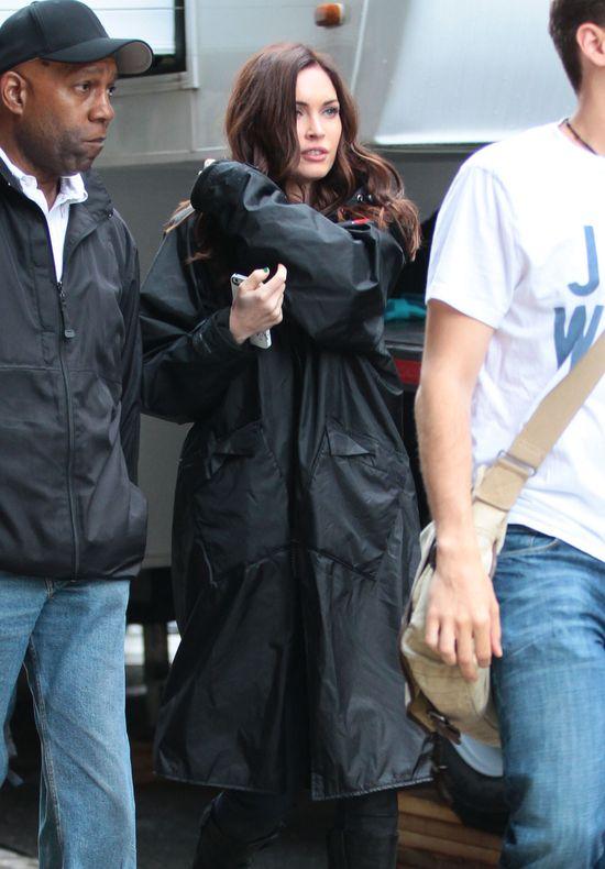 Megan Fox na planie nowego filmu