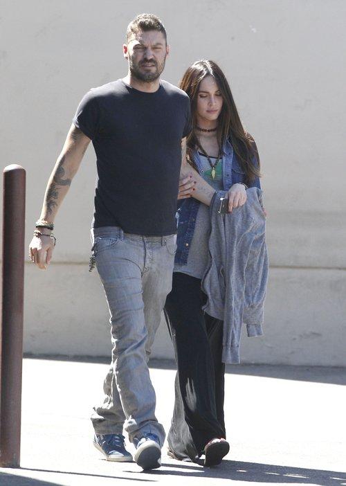 Megan Fox - jak wygląda na krótko przed porodem? (FOTO)