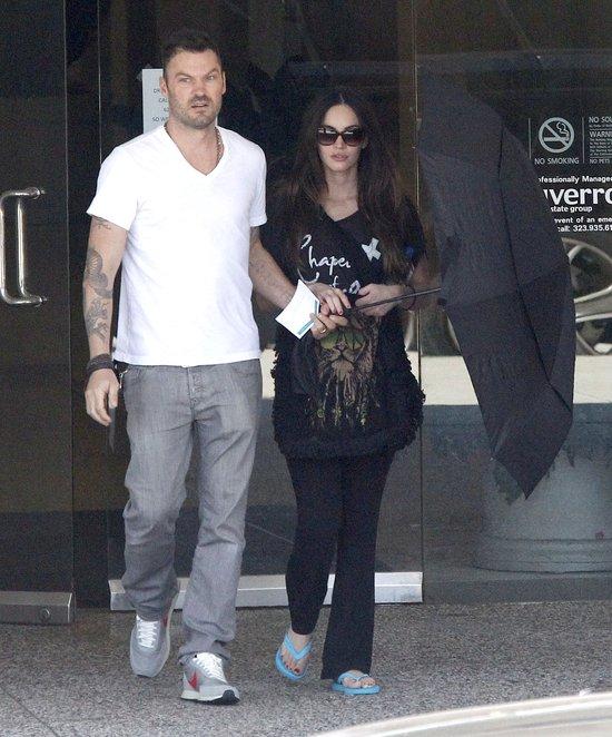 Megan Fox z wizytą u lekarza (FOTO)