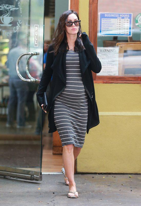 Megan Fox z coraz większym ciążowym brzuchem (FOTO)