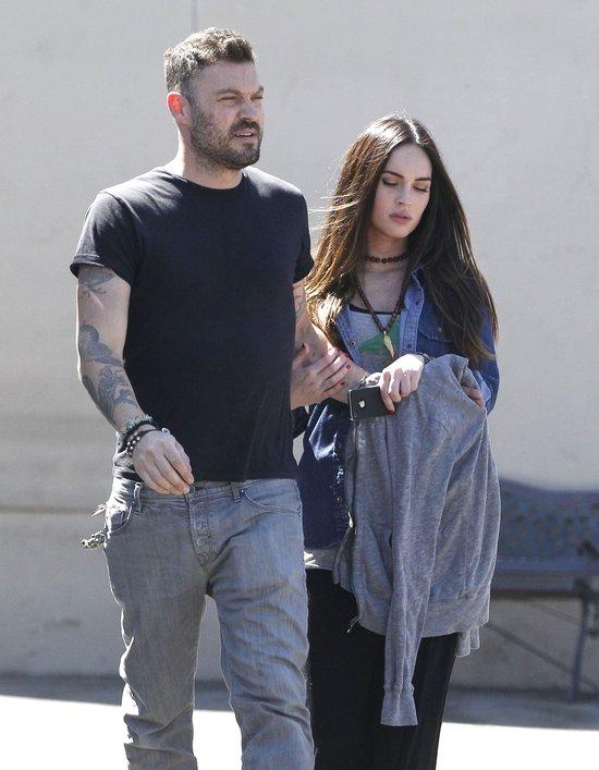 Megan Fox i Brian Austin mieli wypadek (FOTO)