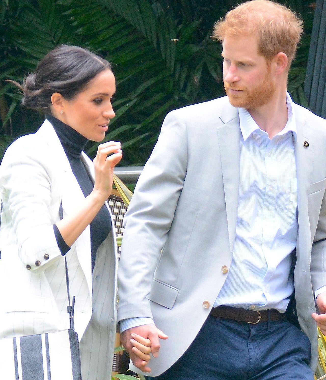 Księżna Meghan jest WYCZERPANA. W niedzielę rano nie pojawiła się u boku męża