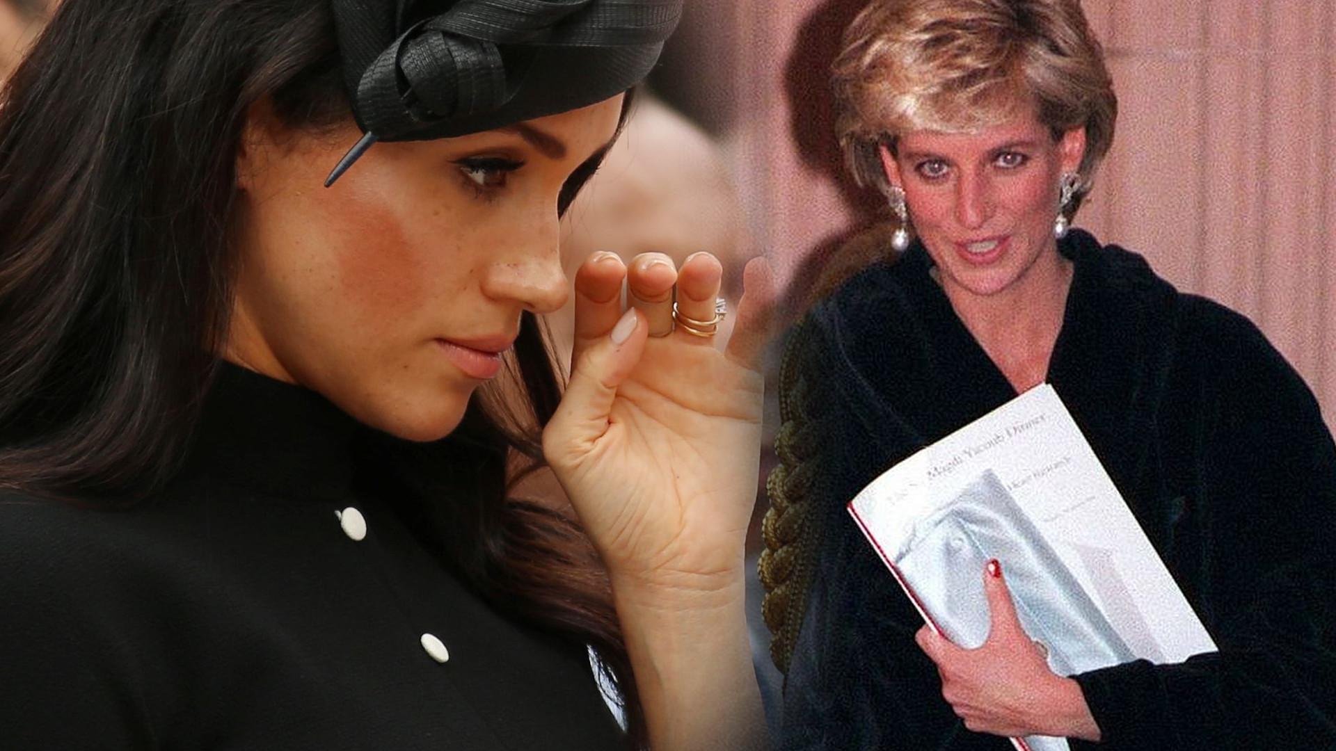 Księżna Meghan spotkała się z sekretną CÓRKĄ księżnej Diany?!