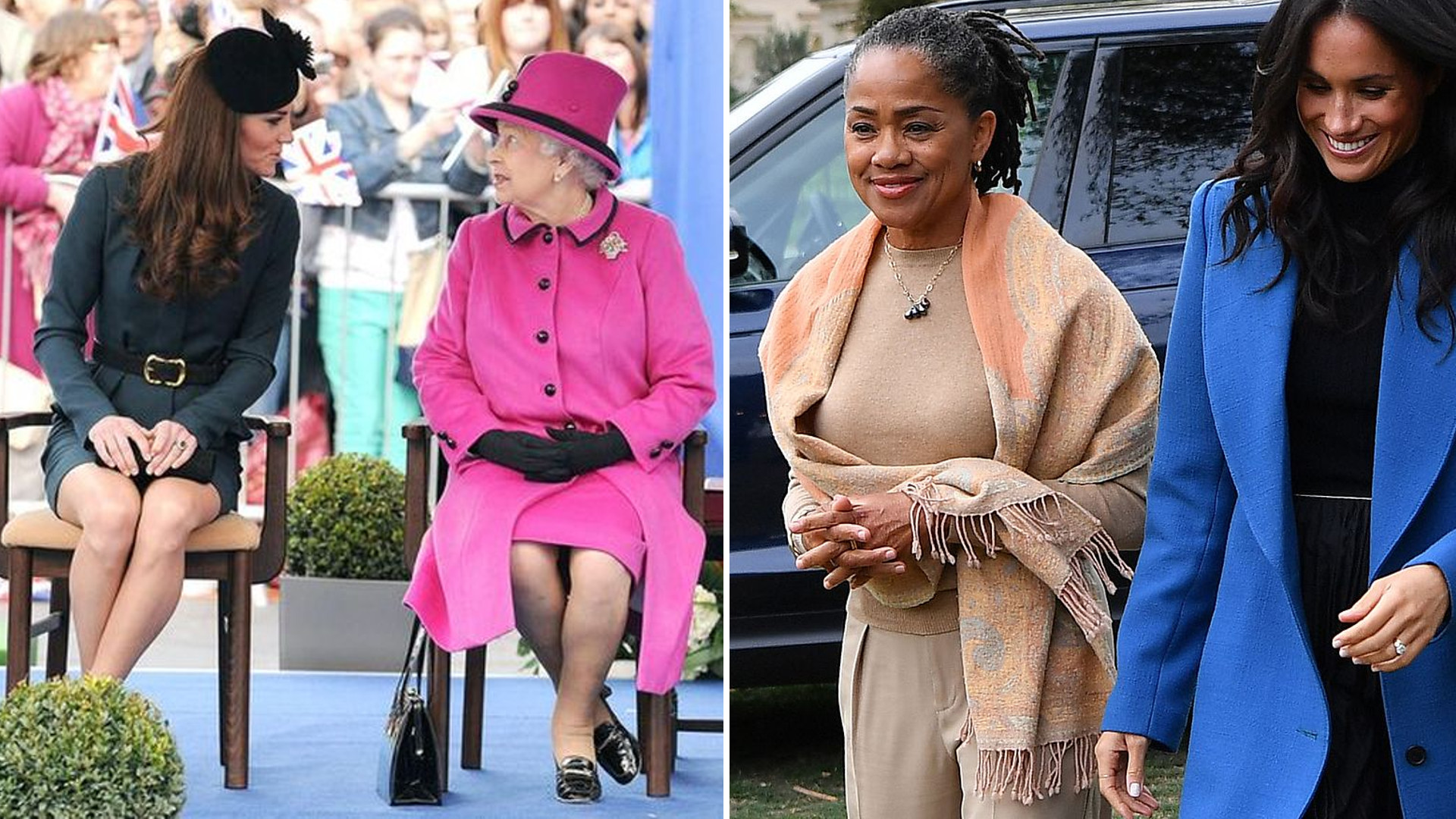 Królowa pozwoliła mamie Meghan na coś, na co NIGDY nie mogła liczyć rodzina Kate