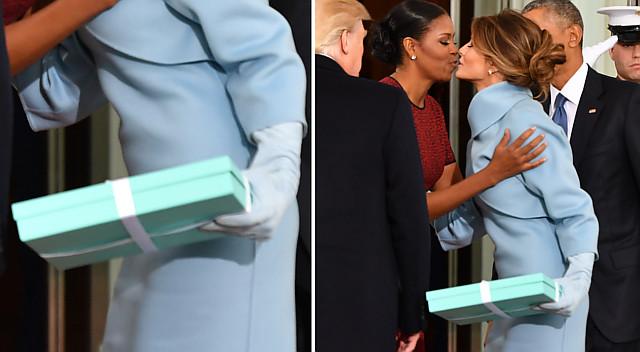 Michelle Obama zdradziła, CO BYŁO w pudełku, które dostała od Melanii Trump