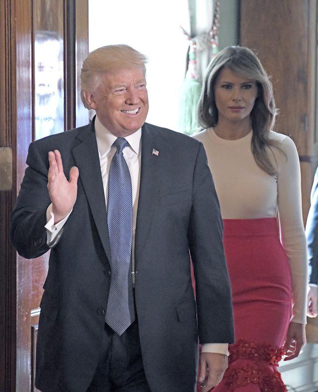 Jest wojna! Ivana Trump i Melania kłócą się o to, która jest Pierwszą Damą
